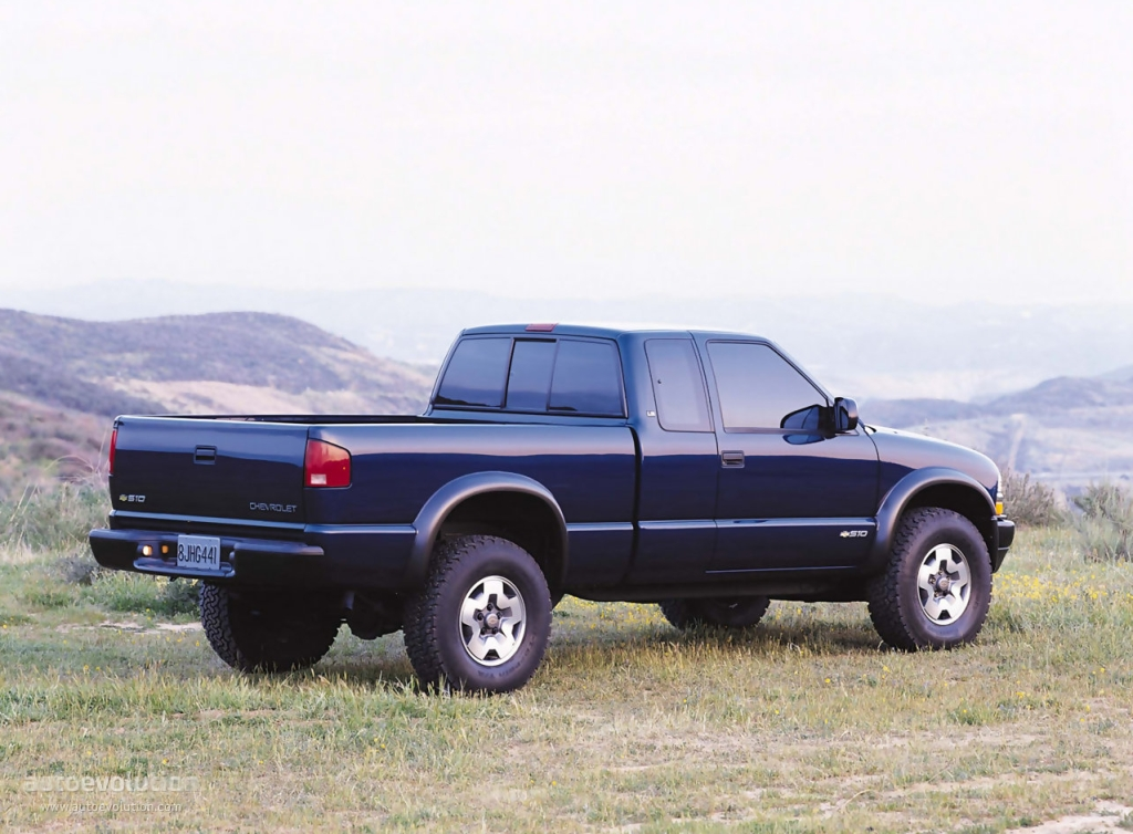 CHEVROLET S-10 Extended Cab specs - 1997, 1998, 1999, 2000, 2001 ...