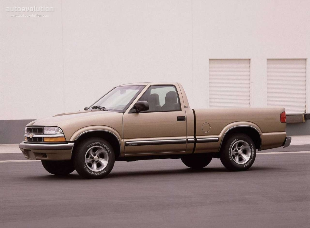 CHEVROLET S-10 Regular Cab specs - 1997, 1998, 1999, 2000 ...