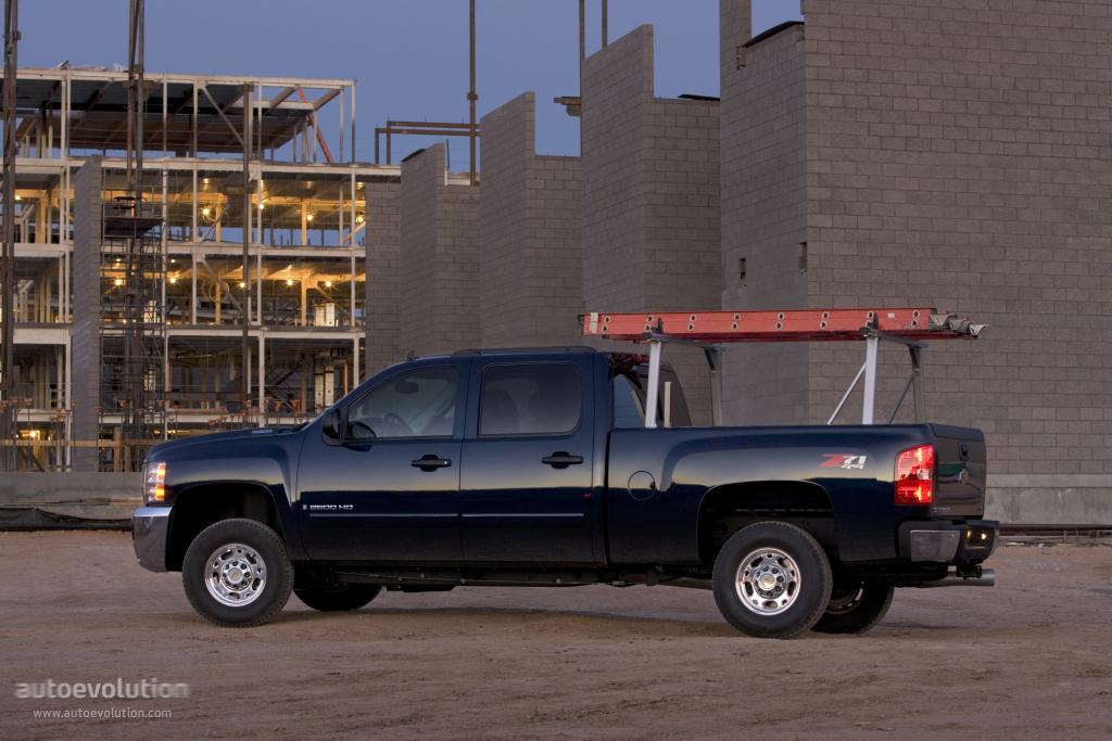 CHEVROLET Silverado 2500HD Crew Cab specs & photos - 2008 ...