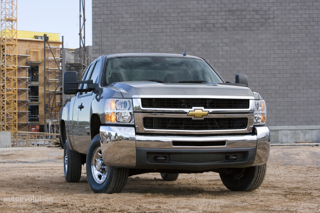 chevrolet silverado 2500hd extended cab 2008 2009 2010 2011 2012 2013 autoevolution. Black Bedroom Furniture Sets. Home Design Ideas
