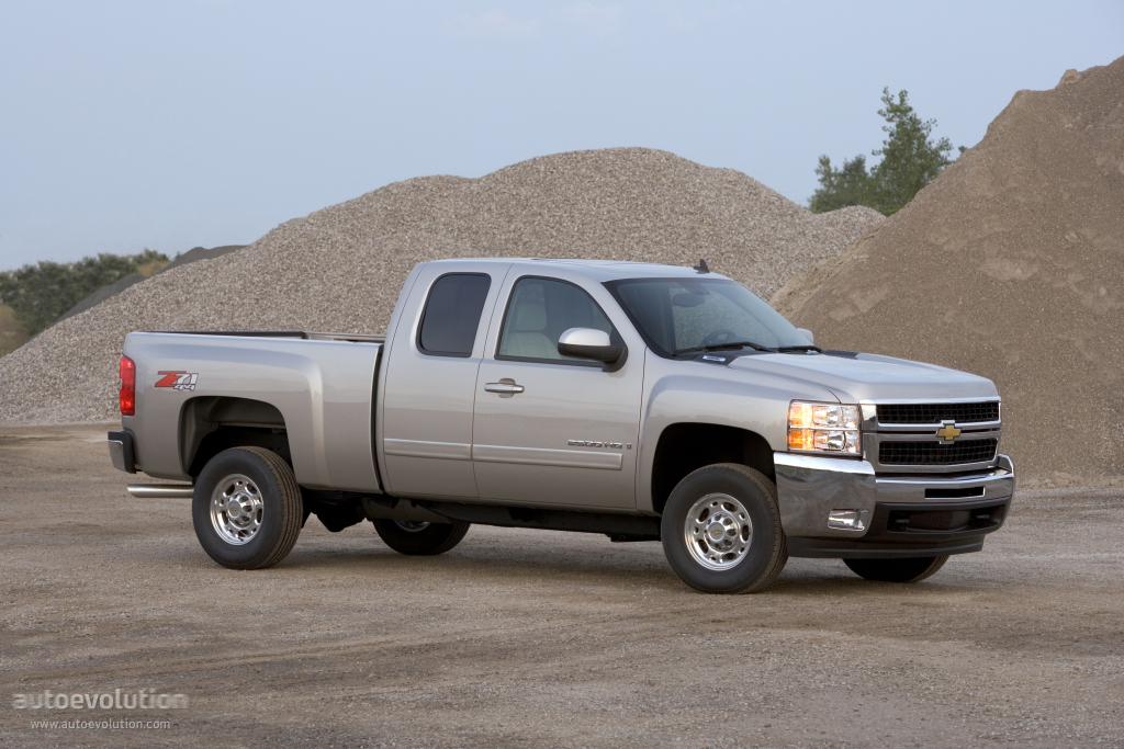 CHEVROLET Silverado 2500HD Extended Cab specs & photos ...