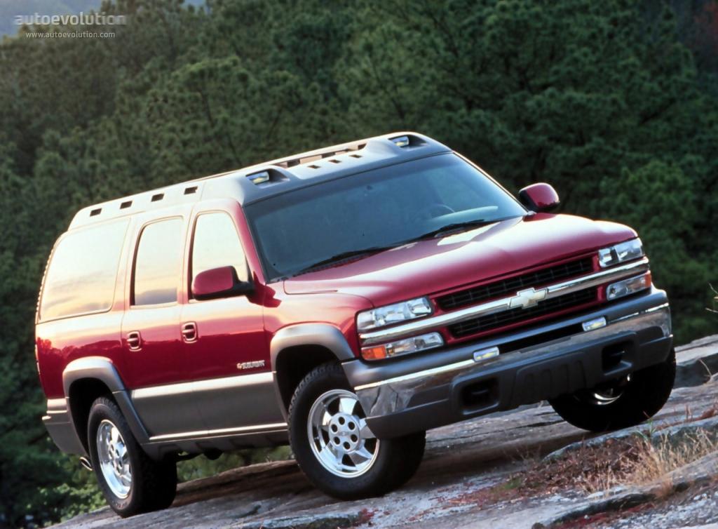 Chevrolet suburban specs 1999 2000 2001 2002 2003 2004 2005 2006 autoevolution
