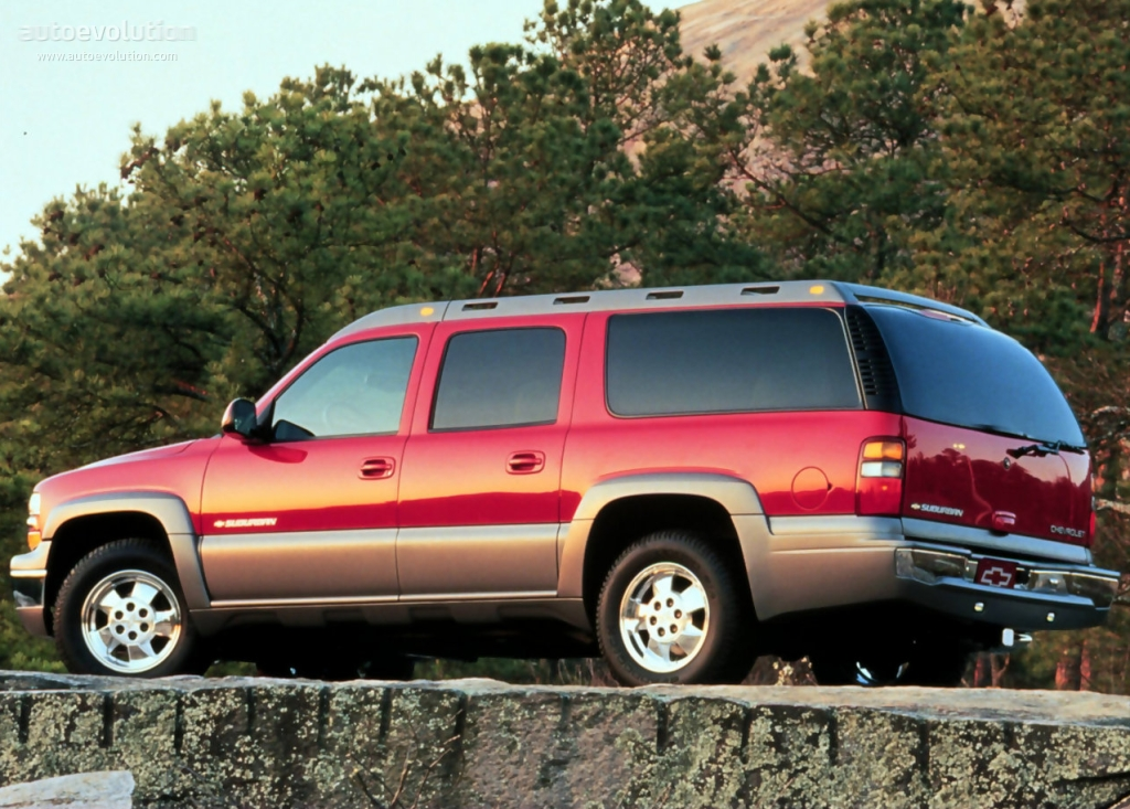 CHEVROLET Suburban specs & photos - 1999, 2000, 2001, 2002 ...