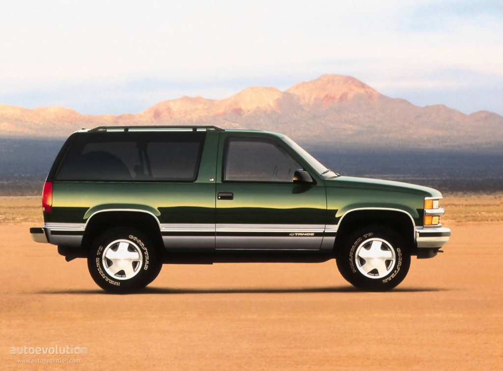 CHEVROLET Tahoe 3 doors specs & photos - 1991, 1992, 1993 ...