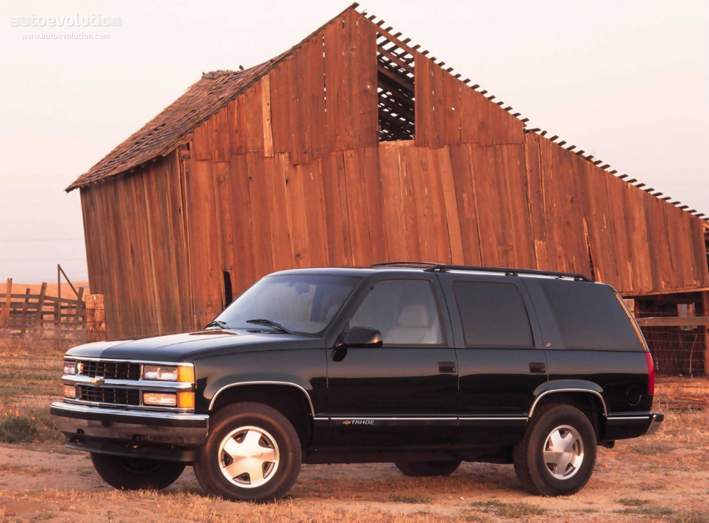 CHEVROLET Tahoe 5 doors specs & photos - 1991, 1992, 1993 ...