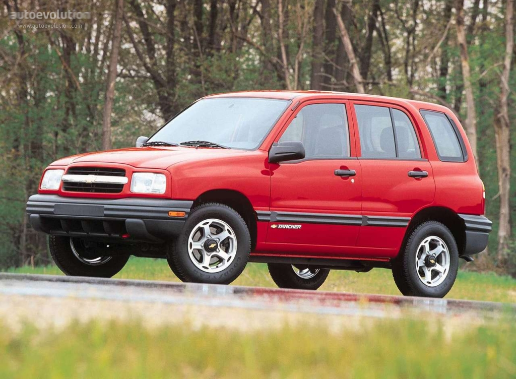 Chevrolet Tracker 1999 2000 2001 2002 2003 2004