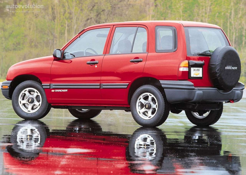 chevrolet tracker specs  u0026 photos - 1999  2000  2001  2002  2003  2004