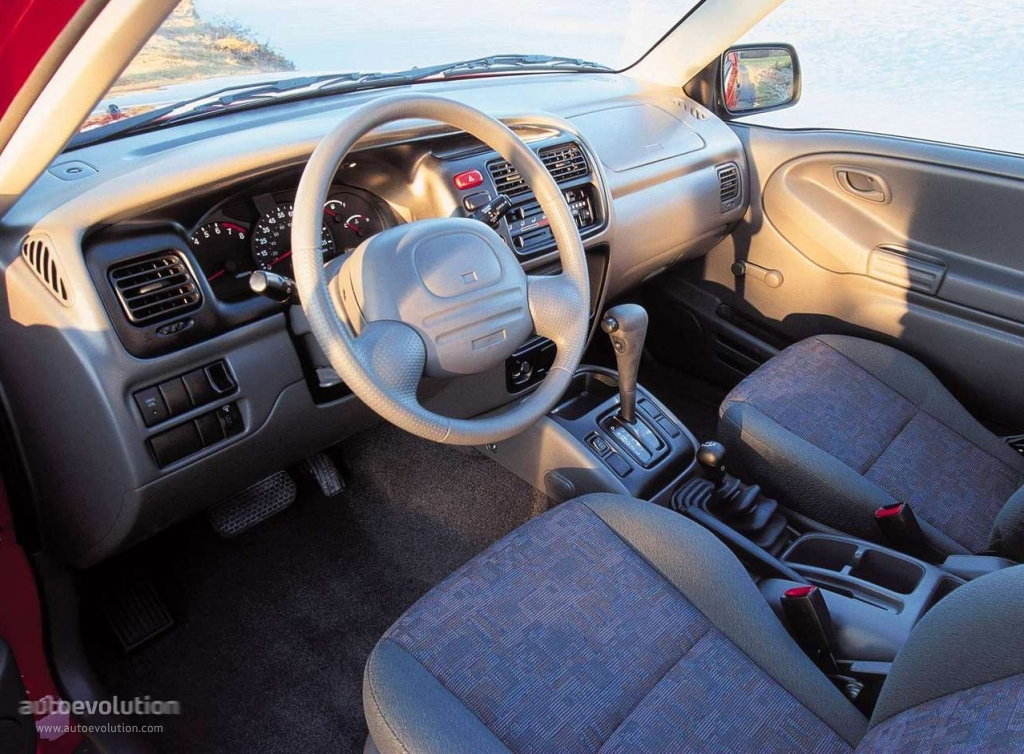 Chevrolet Tracker Specs 1999 2000 2001 2002 2003