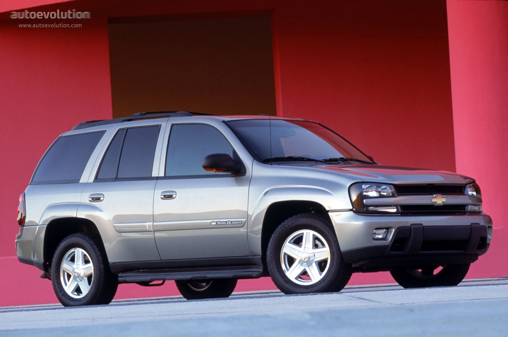 CHEVROLET TrailBlazer specs & photos - 2000, 2001, 2002 ...