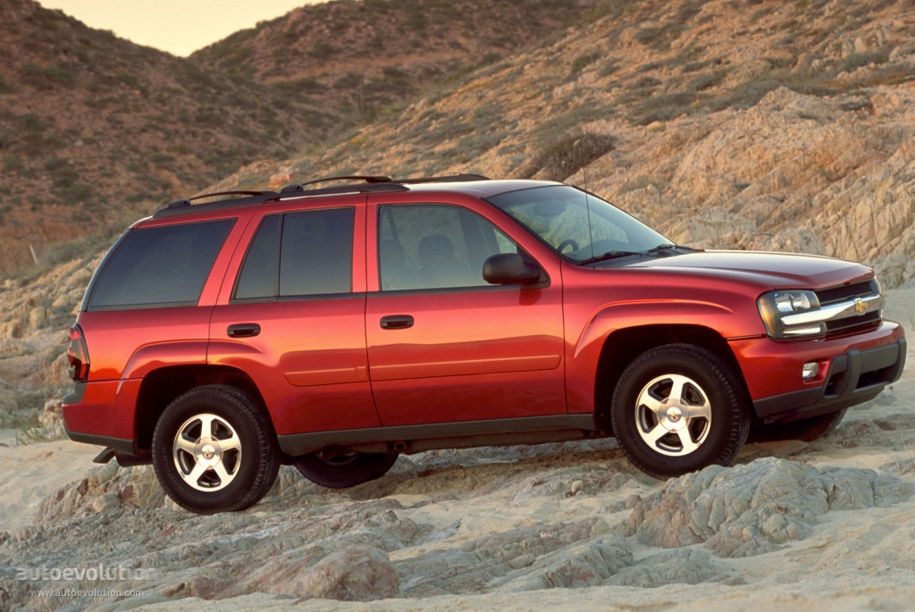 CHEVROLET TrailBlazer specs  2000 2001 2002 2003 2004 2005