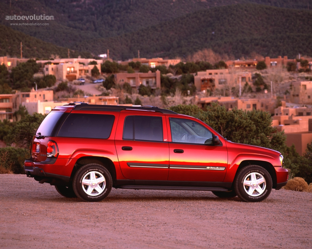 CHEVROLET TrailBlazer EXT specs - 2002, 2003, 2004, 2005, 2006 ...
