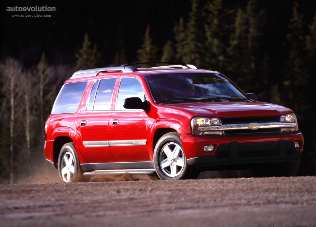 CHEVROLET TrailBlazer EXT specs & photos - 2002, 2003 ...