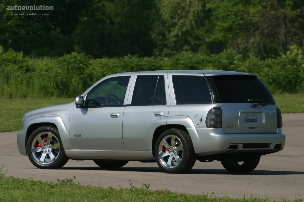 CHEVROLET TrailBlazer SS specs & photos - 2005, 2006, 2007 ...