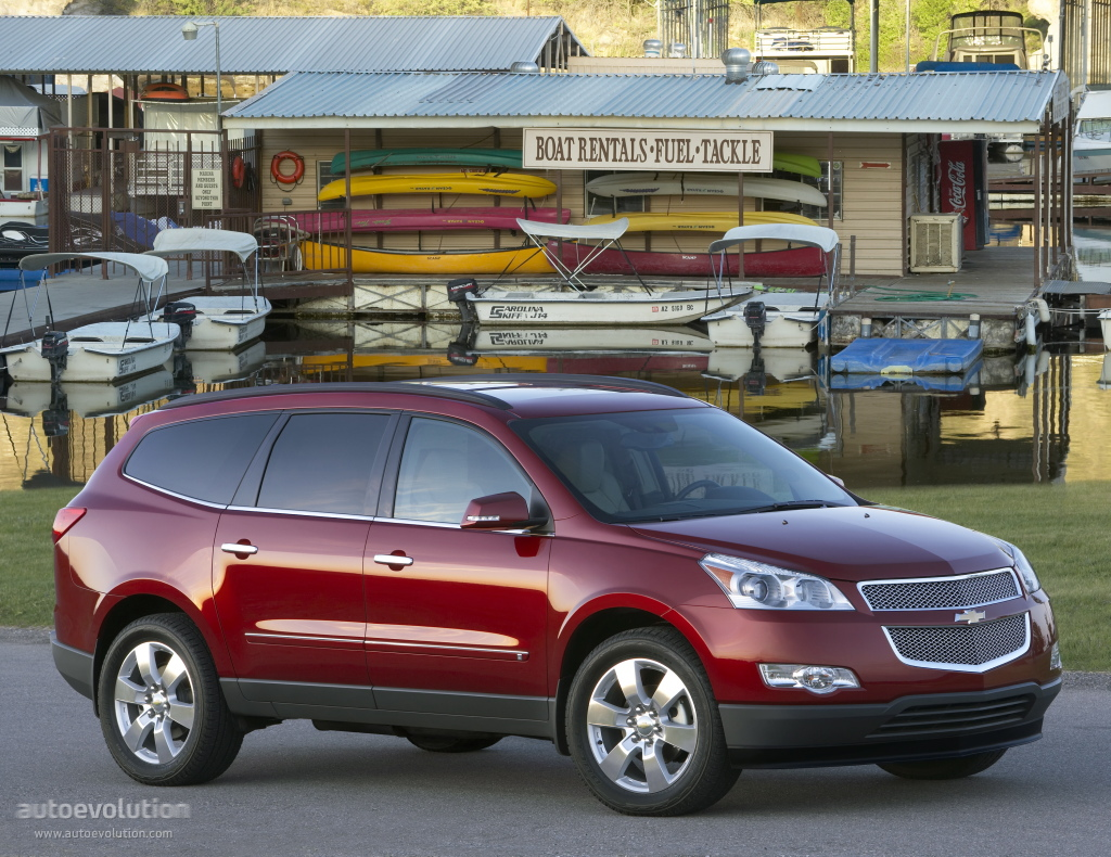 chevrolet traverse specs 2008 2009 2010 2011 2012 autoevolution. Black Bedroom Furniture Sets. Home Design Ideas