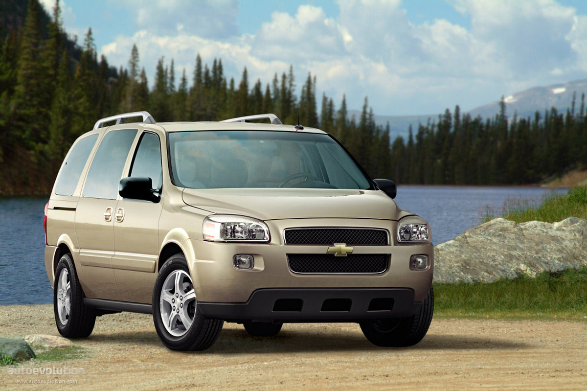 chevrolet uplander specs  u0026 photos