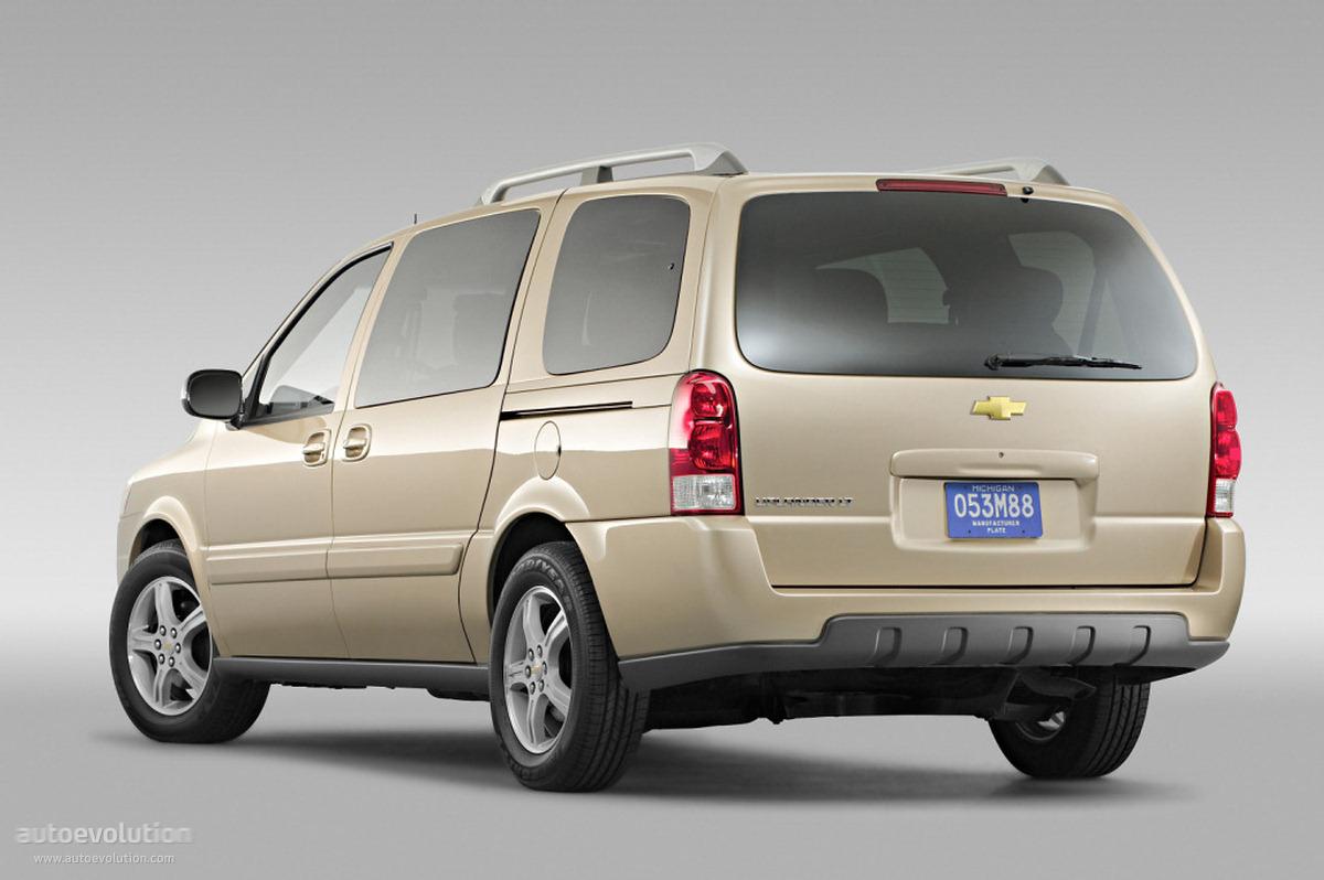 Chevrolet Uplander Specs 2004 2005 2006 2007 2008