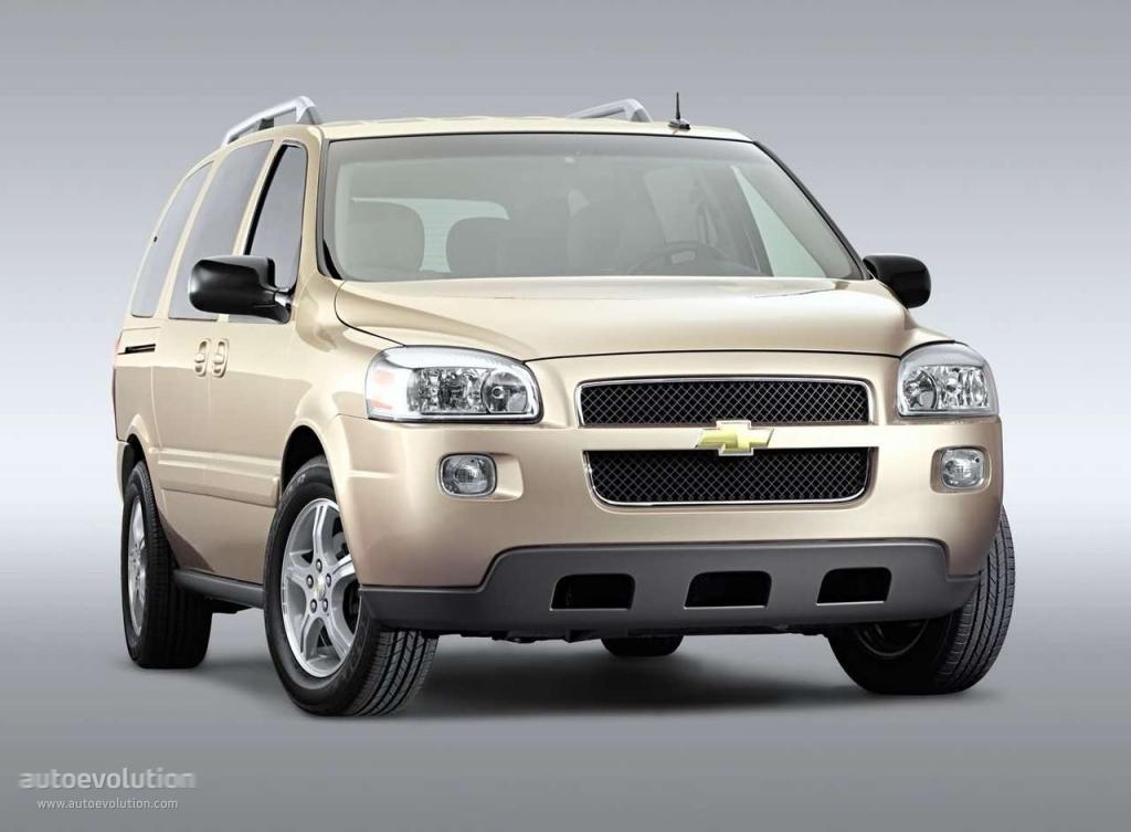 Chevrolet Uplander 2004 2005 2006 2007 2008 2009 Autoevolution