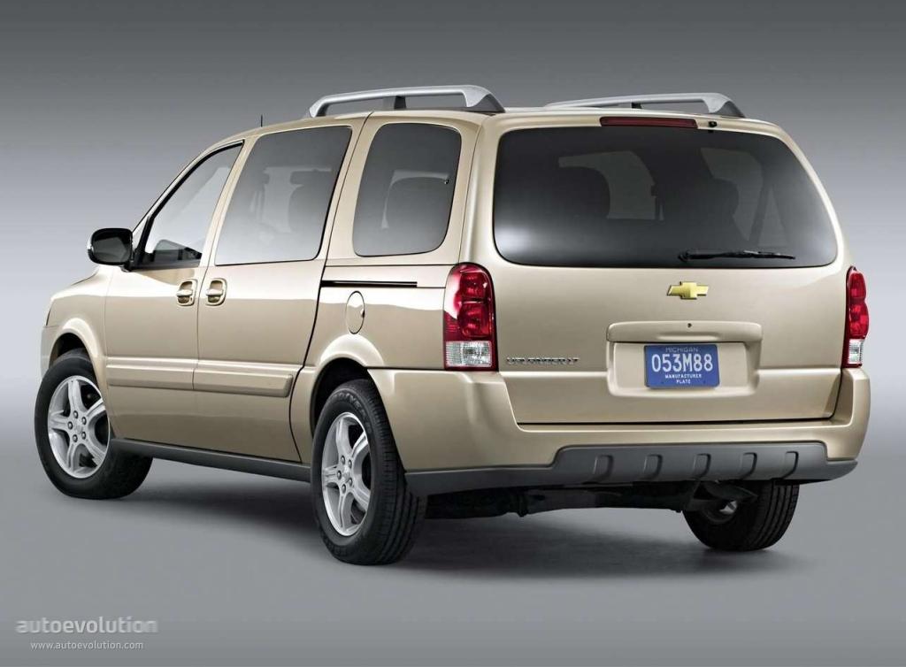 Chevrolet Uplander Specs Amp Photos 2004 2005 2006 2007