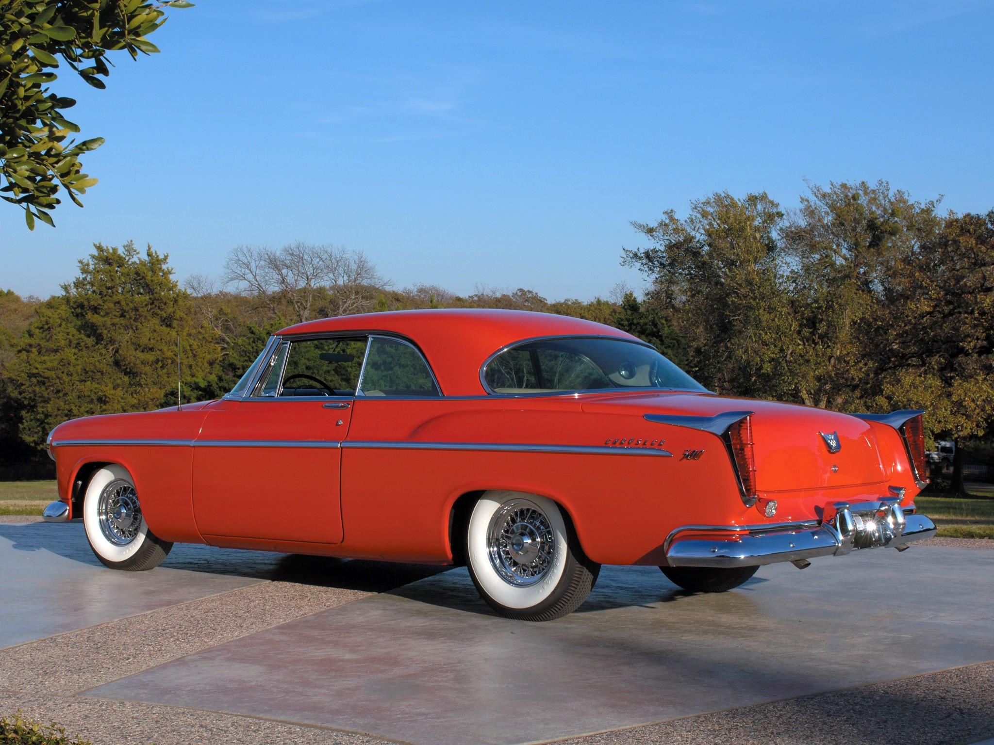 Chrysler 300 Sport Coupe Specs Amp Photos 1955 1956
