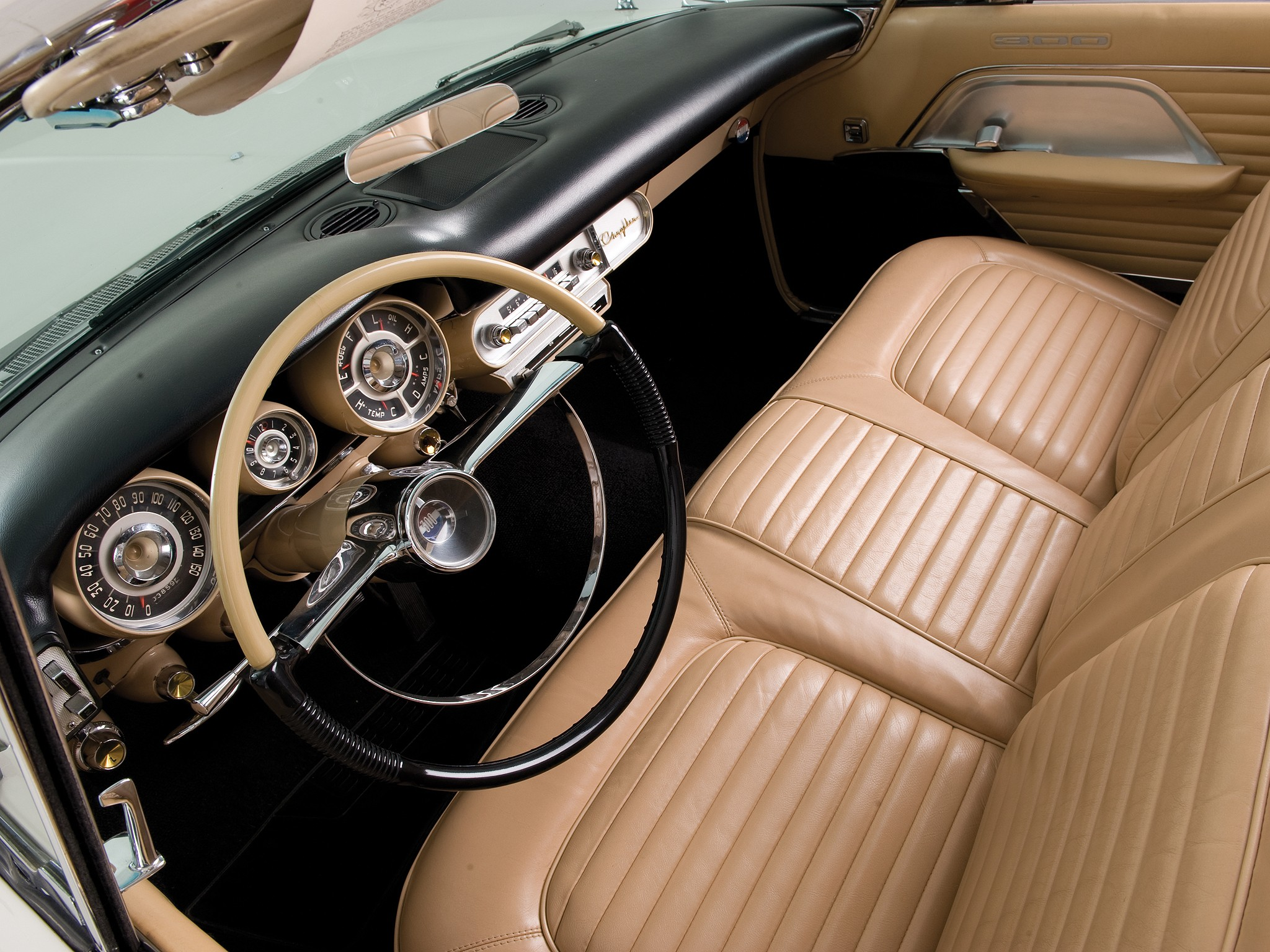 Chrysler 300 Convertible >> CHRYSLER 300C Convertible specs & photos - 1957 ...
