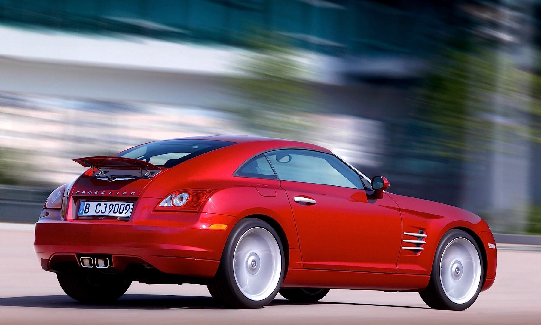 Chrysler Crossfire 2007 2008 Autoevolution