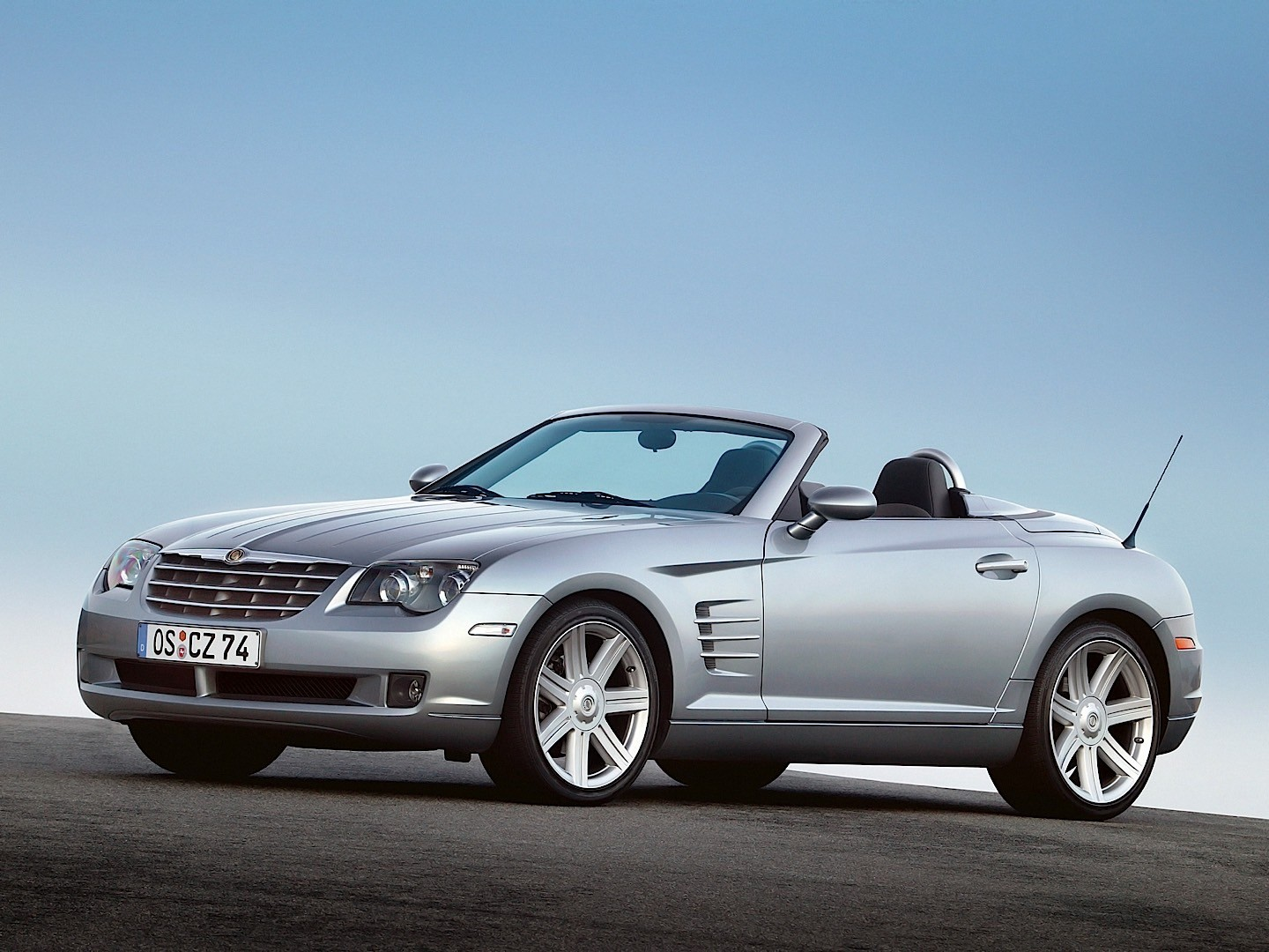 chrysler crossfire roadster specs photos 2007 2008. Black Bedroom Furniture Sets. Home Design Ideas