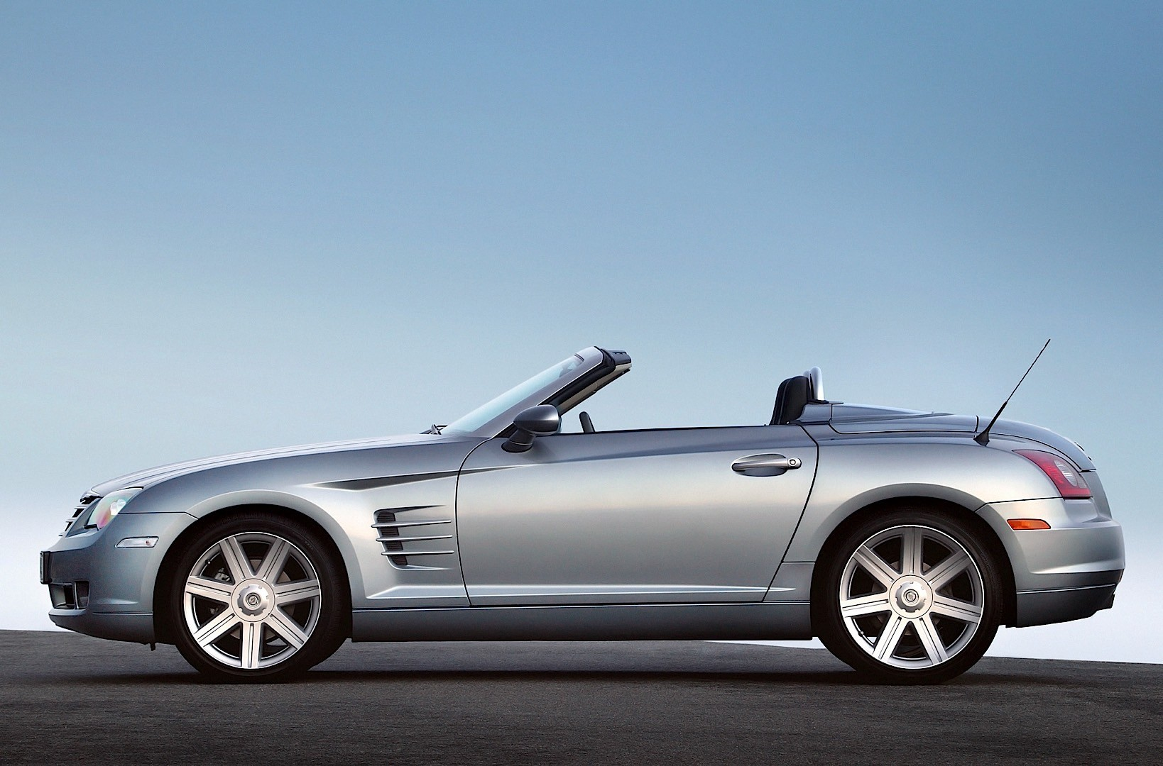 Chrysler Crossfire Roadster 2007 on gmc v6 engine