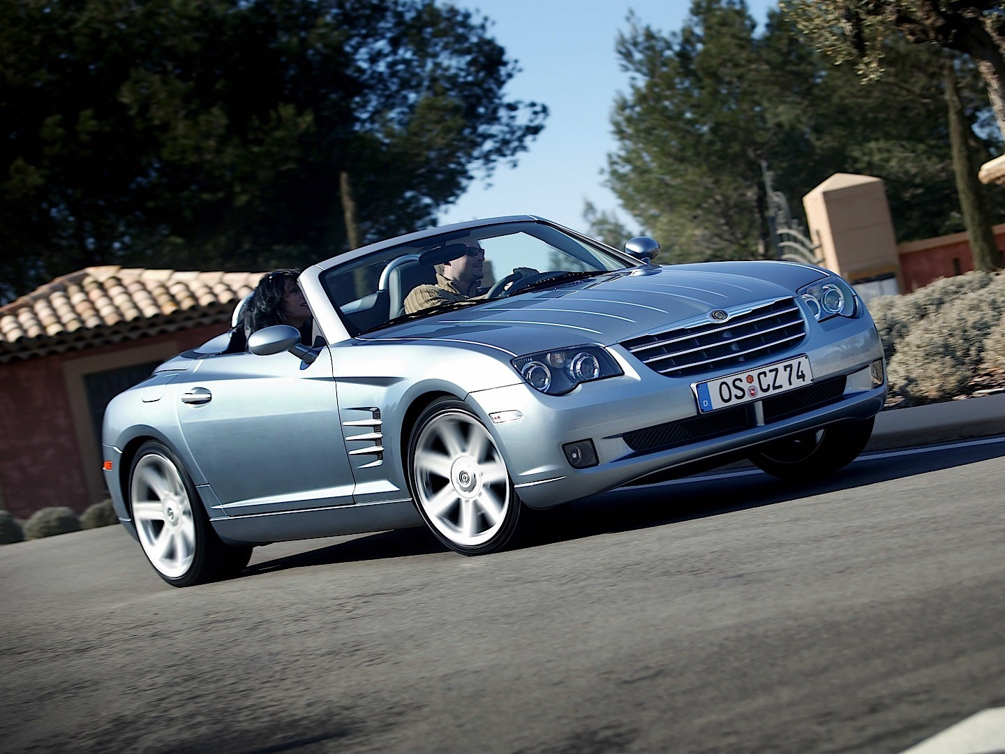 Chrysler Crossfire Roadster Specs Amp Photos 2007 2008 Autoevolution