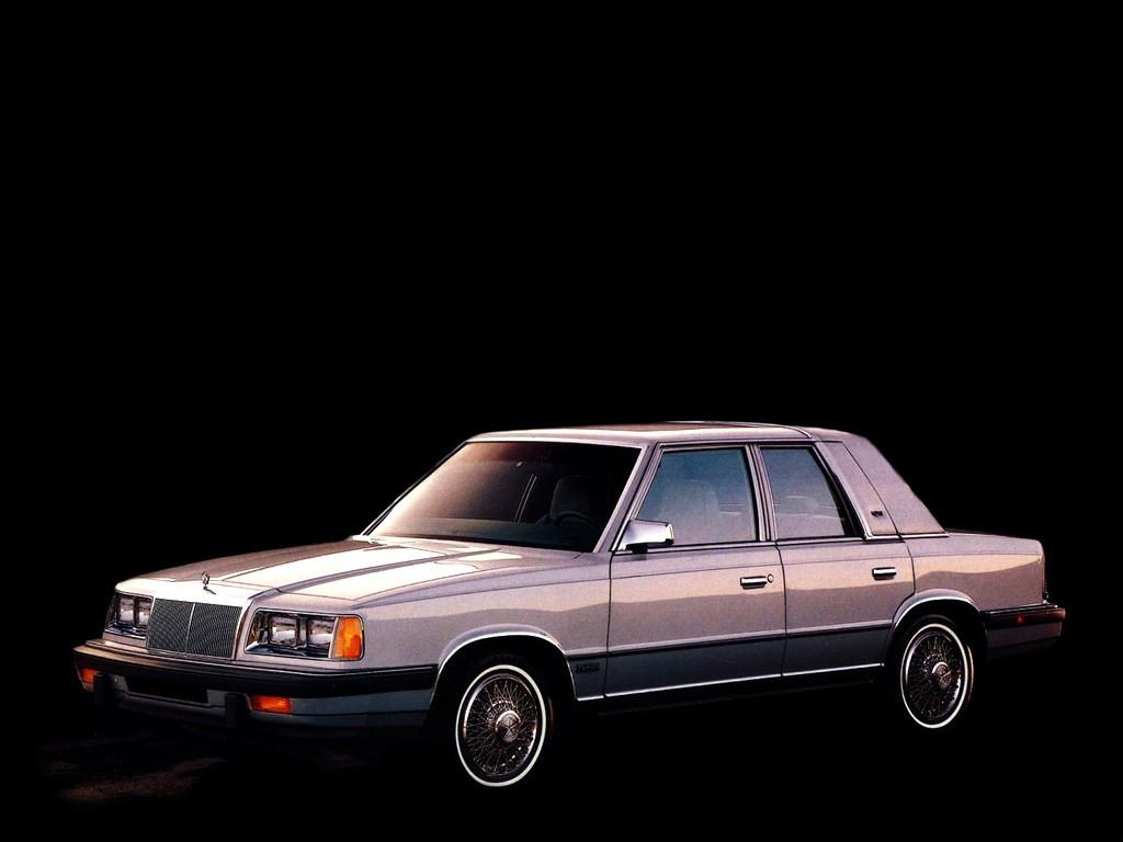 CHRYSLER LeBaron specs - 1982, 1983, 1984, 1985, 1986 ...