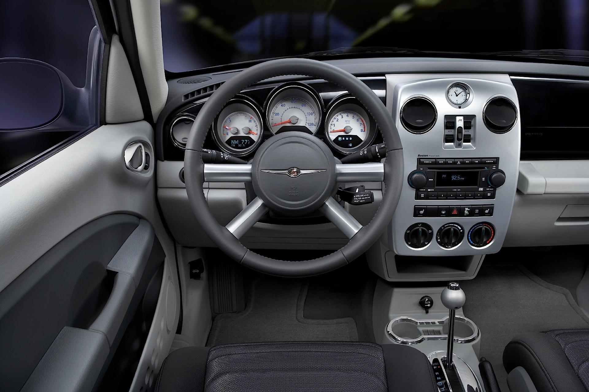 Chrysler pt cruiser specs 2006 2007 2008 2009 2010