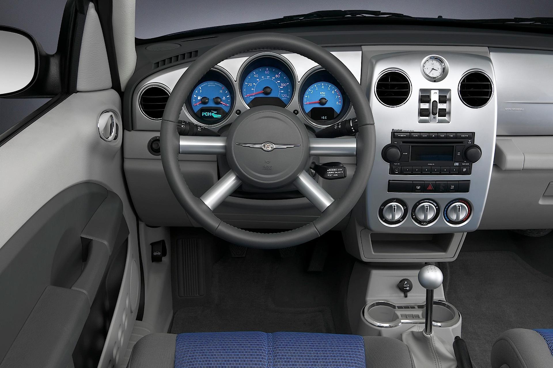 Chrysler pt cruiser specs 2006 2007 2008 2009 2010 for Interiores 2016