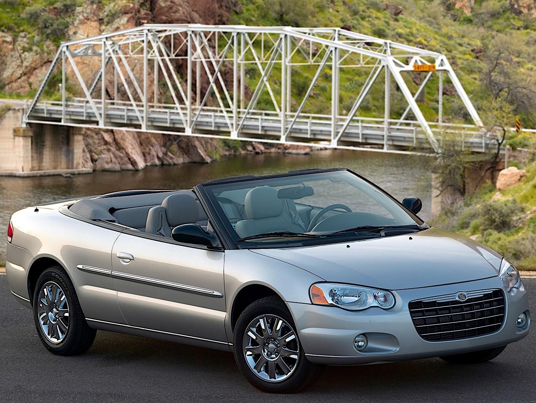 Chrysler Sebring Convertible Specs - 2003  2004  2005  2006  2007