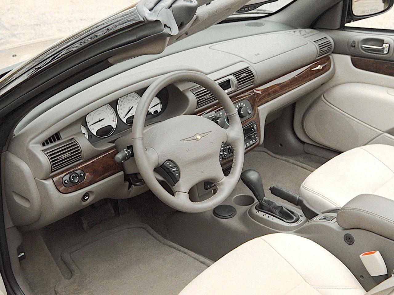 Chrysler Sebring Convertible Specs 2003 2004 2005 2006 2007 Autoevolution