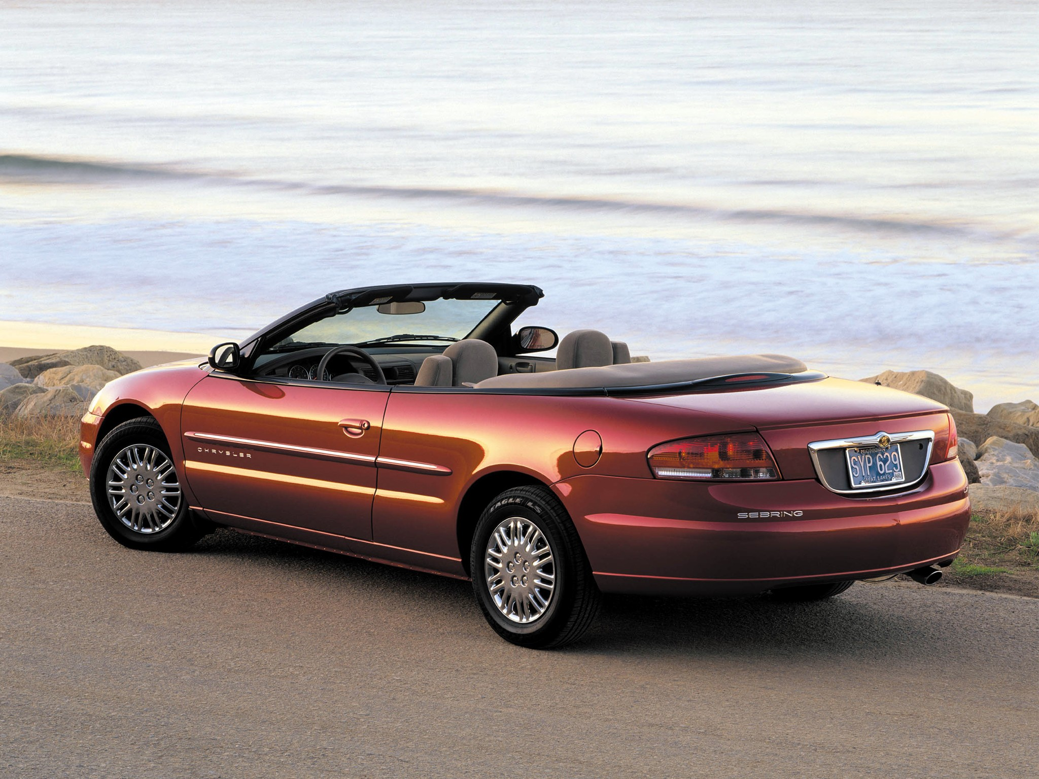 chrysler sebring convertible specs photos 2001 2002 2003 autoevolution. Black Bedroom Furniture Sets. Home Design Ideas
