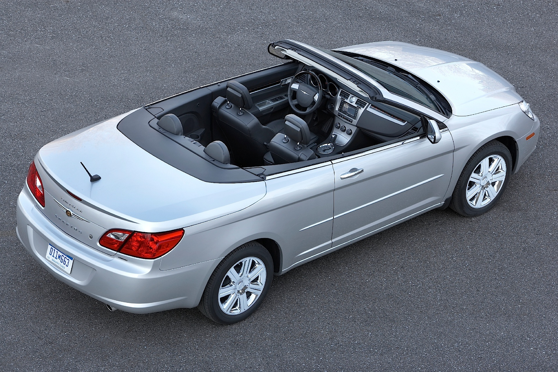 Chrysler Sebring Convertible on 2007 Chrysler Sebring Engine