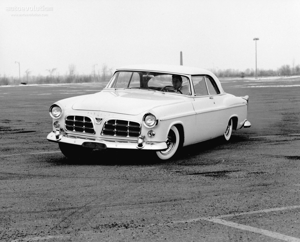 CHRYSLER 300 Sport Coupe specs  1955 1956  autoevolution