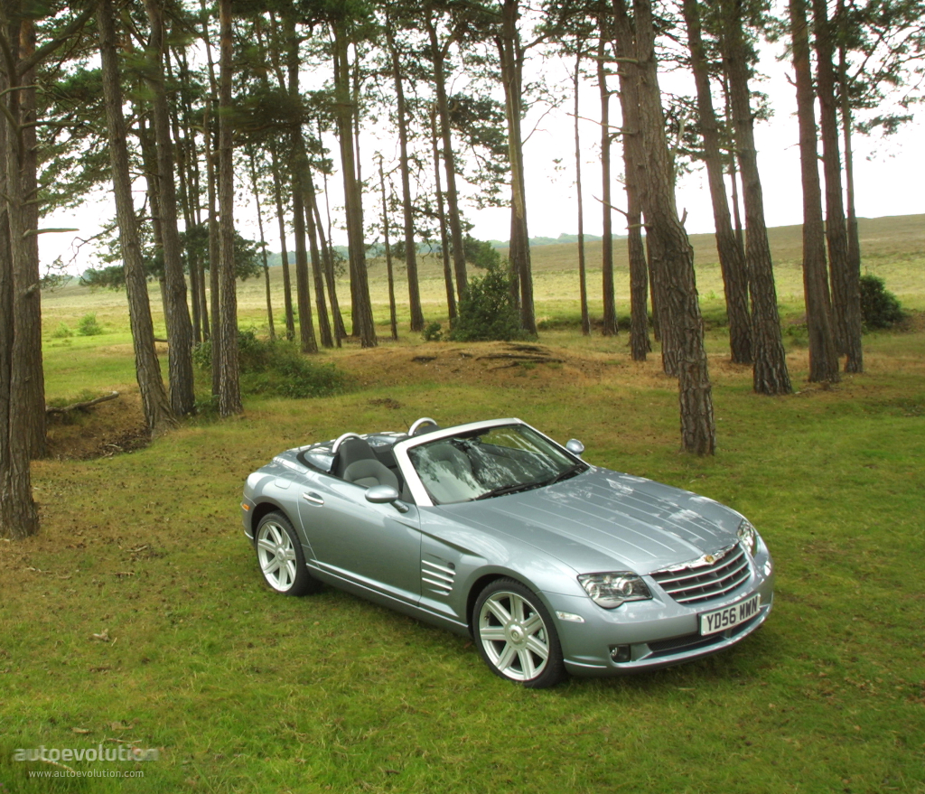 CHRYSLER Crossfire Roadster Specs & Photos