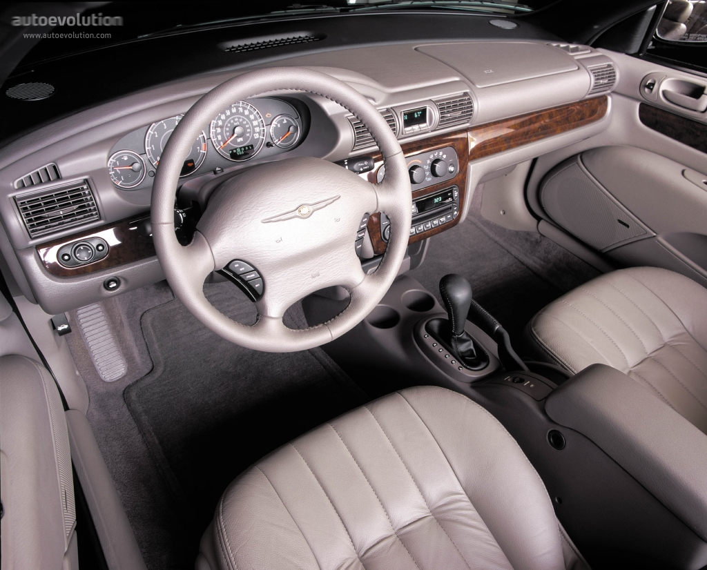 ... CHRYSLER Sebring Convertible (2001 - 2003) ...