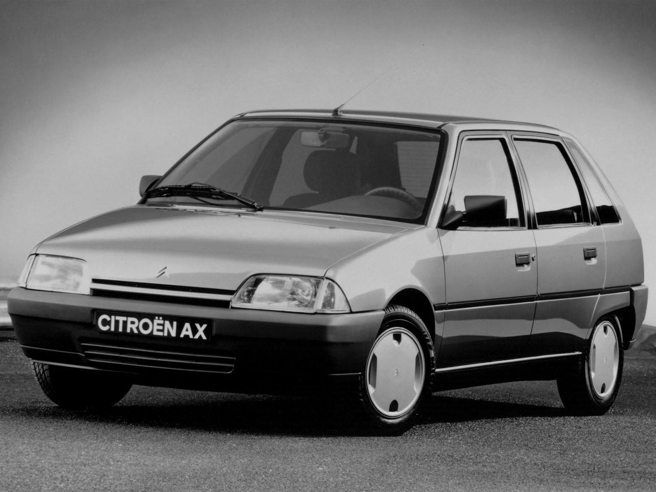 Citroen Ax 5 Doors Specs 1991 1992 1993 1994 1995