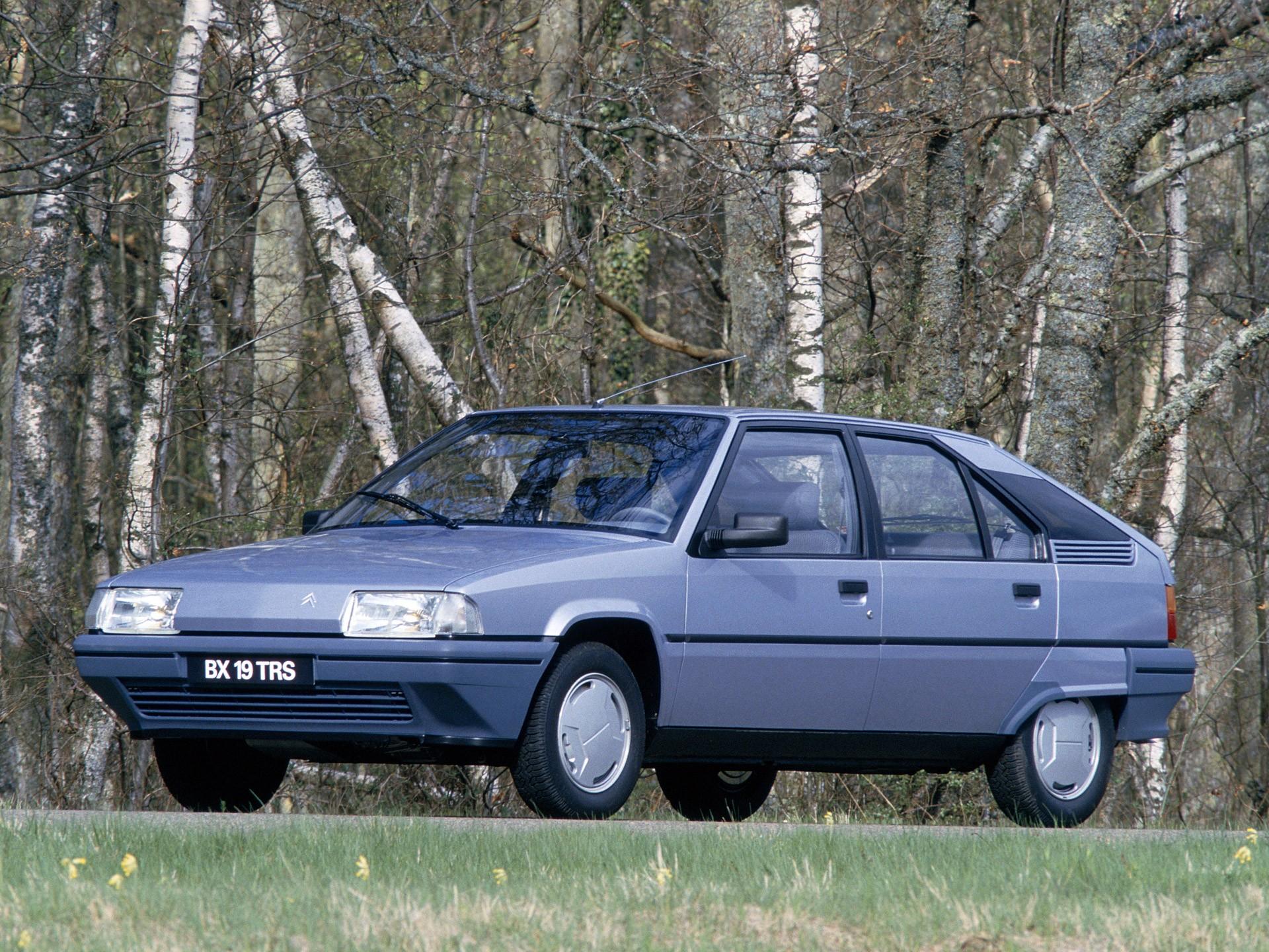 CITROEN BX specs & photos - 1986, 1987, 1988, 1989 - autoevolution