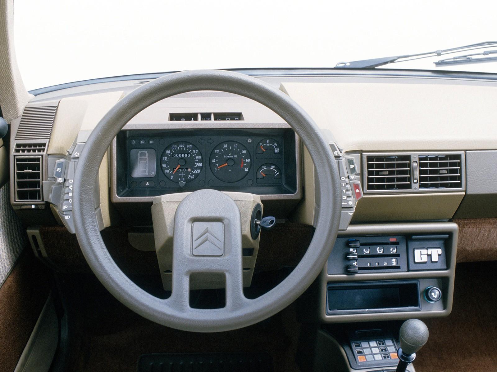 CITROEN BX specs - 1983, 1984, 1985, 1986 - autoevolution