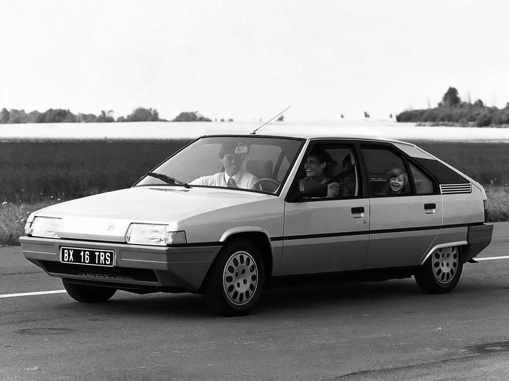 CITROEN BX - 1983, 1984, 1985, 1986 - autoevolution