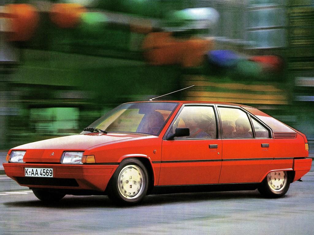 CITROEN BX specs & photos - 1983, 1984, 1985, 1986 - autoevolution