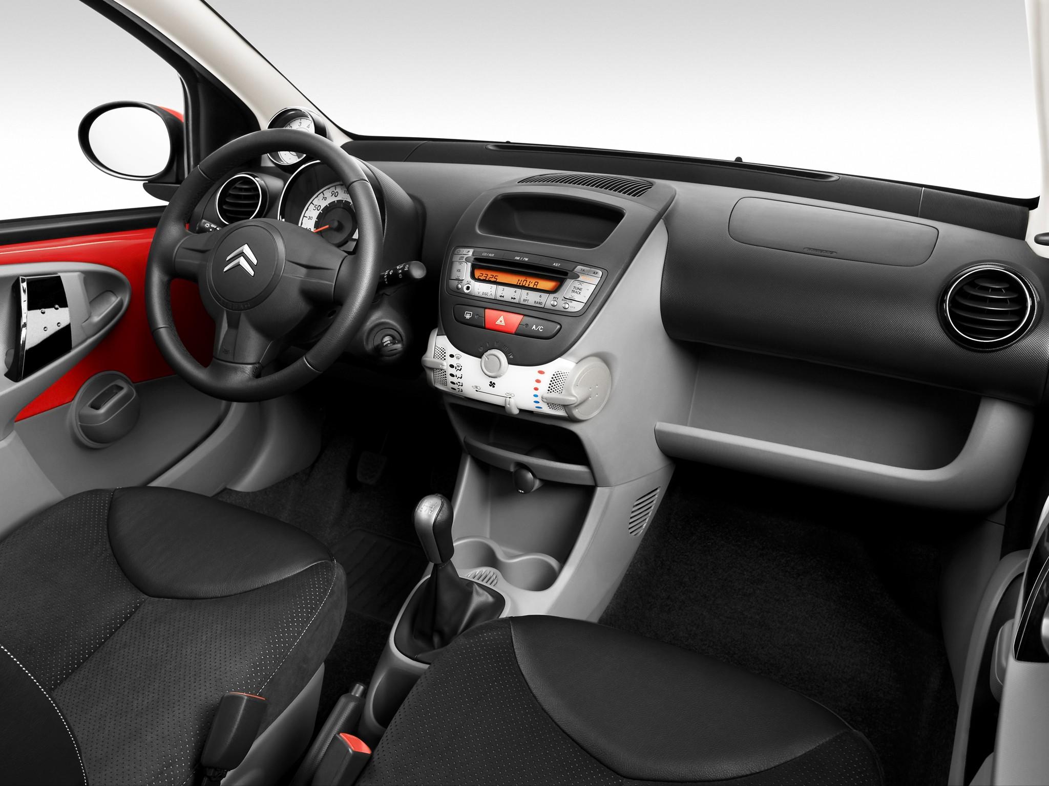 Citroen c1 5 doors specs 2009 2010 2011 2012 for Interiores 2016