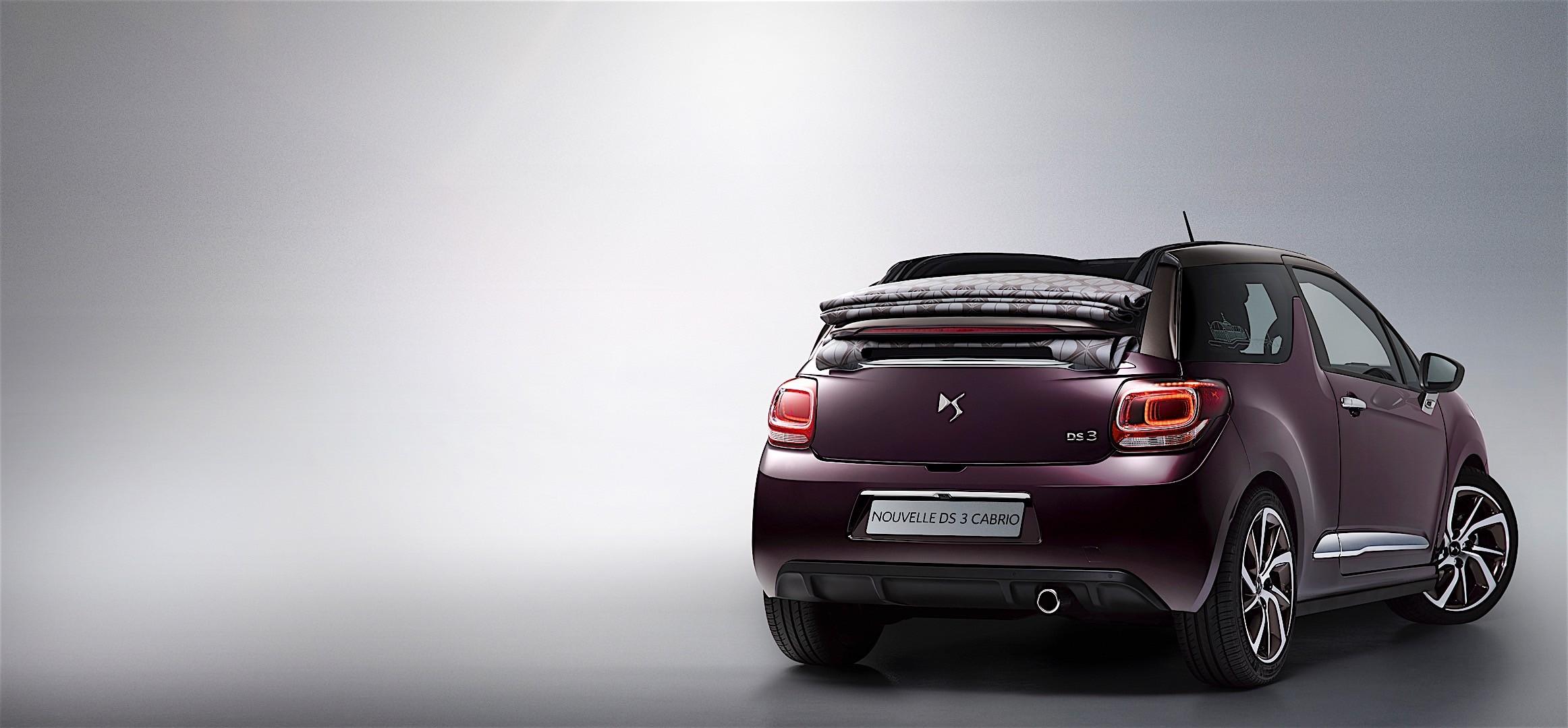 citroen ds3 cabrio 2016 autoevolution. Black Bedroom Furniture Sets. Home Design Ideas