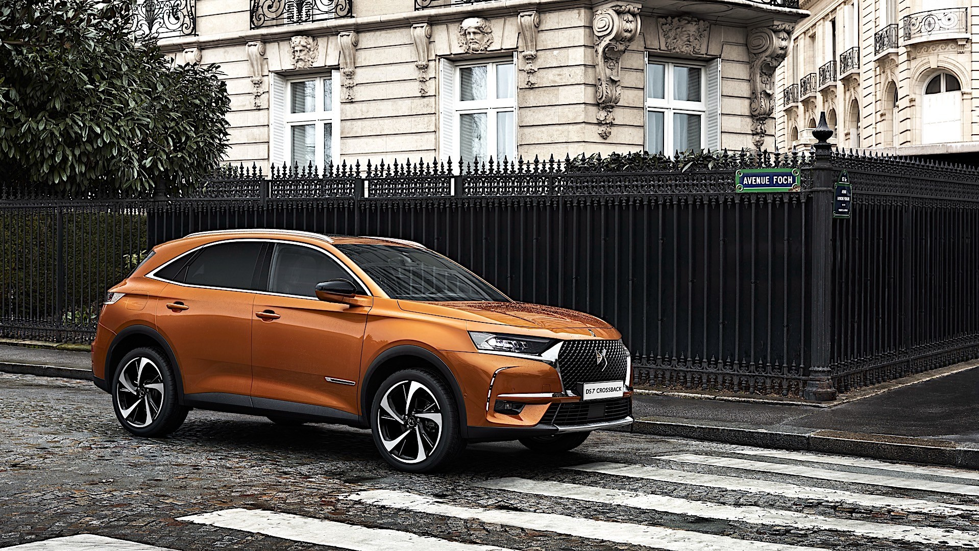ds automobiles ds7 crossback specs photos 2017 2018 2019 autoevolution. Black Bedroom Furniture Sets. Home Design Ideas