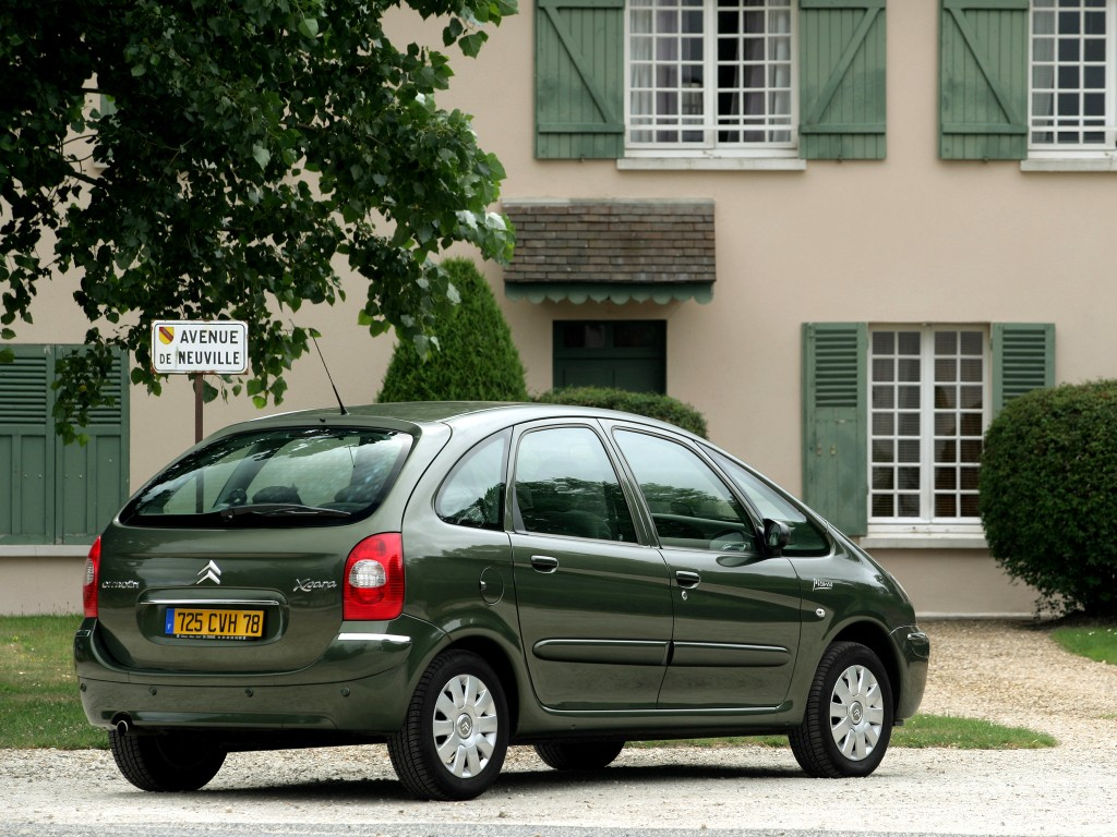 citroen xsara picasso specs photos 2004 2005 2006. Black Bedroom Furniture Sets. Home Design Ideas