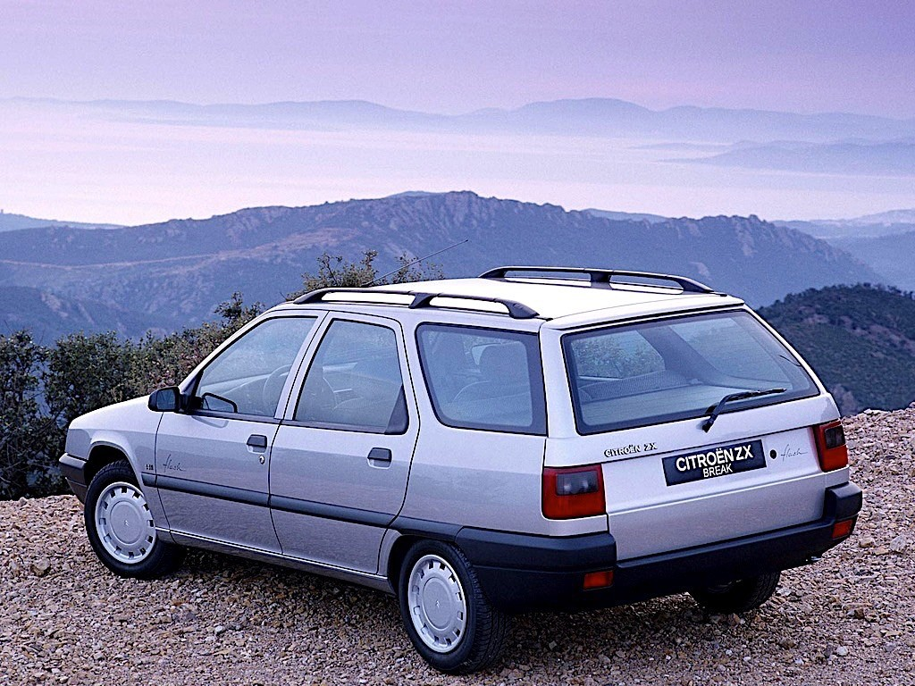 CITROEN ZX Break specs & photos - 1994, 1995, 1996 - autoevolution