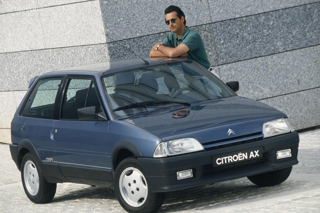 Citroen Ax 3 Doors Specs 1991 1992 1993 1994 1995