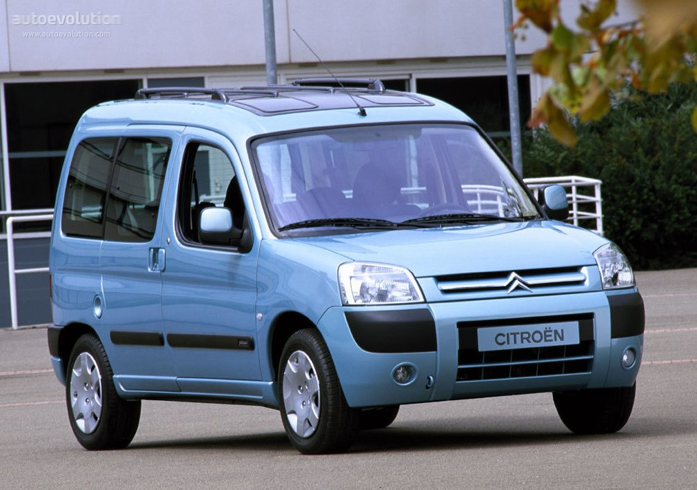 CITROEN Berlingo specs - 2002, 2003, 2004, 2005, 2006